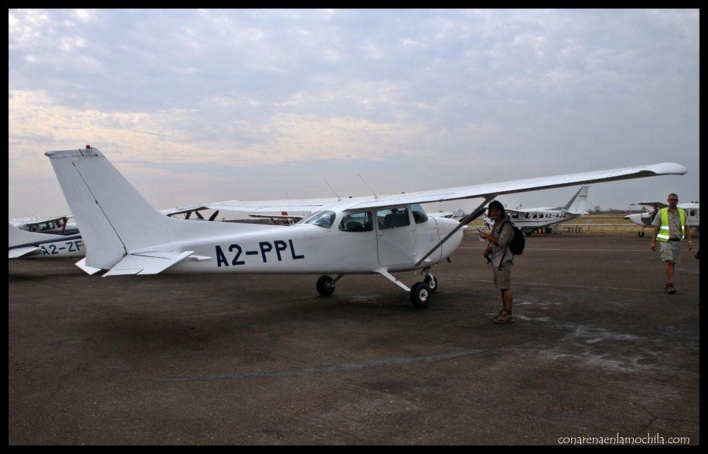 Avioneta Maun