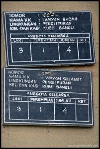 Penglipuran Bali
