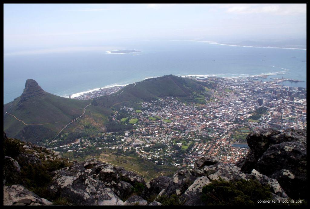 Table Mountain Ciudad del Cabo Sudáfrica