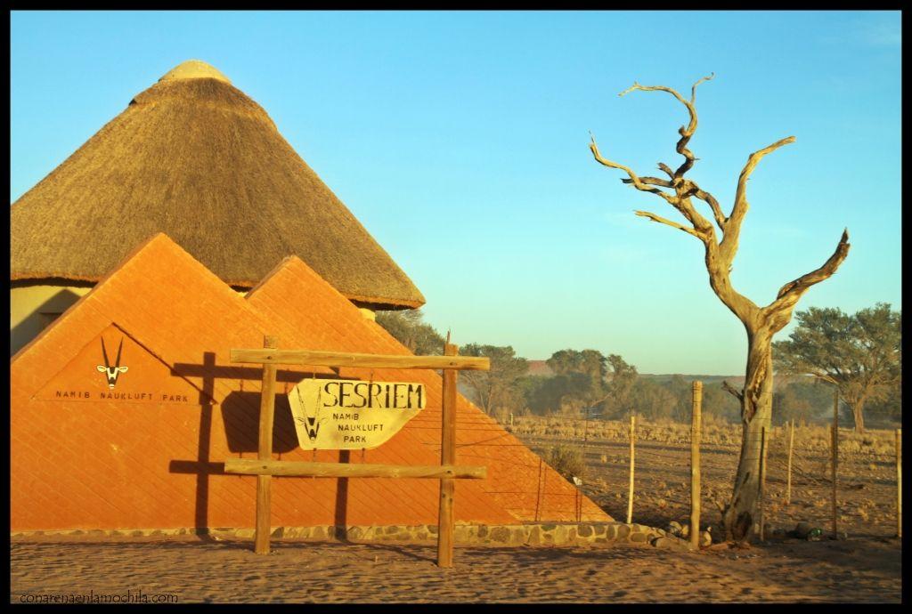 Sesriem Namib Naukluft Namibia
