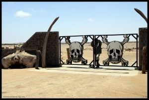 Skeleton coast entrada