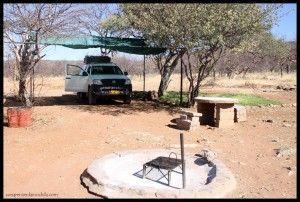 Camping Otjitotongwe