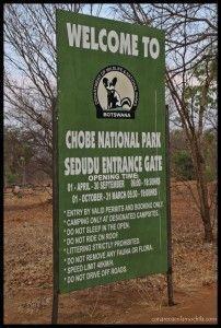 Entrada Chobe