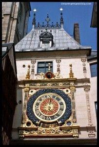 Gros Horloge Rouen - Francia