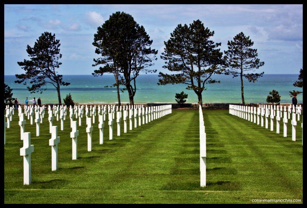 Cementerio americano Colleville sur Mer Normandía Francia