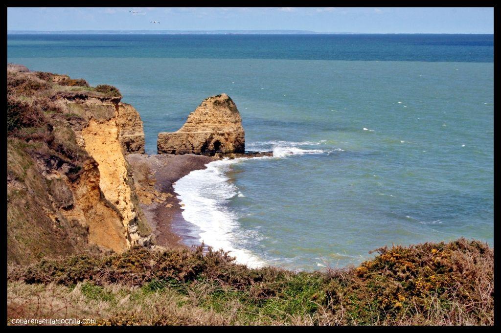 Pointe du Hoc Normandía Francia