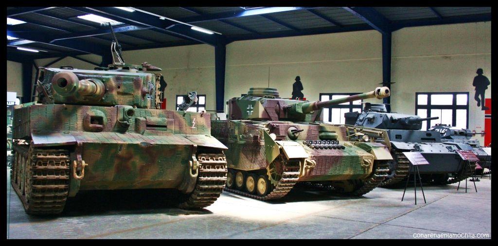 Panzers Musée des Blindés Saumur Francia