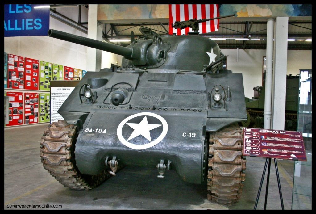 Sherman Musée des Blindés Saumur Francia