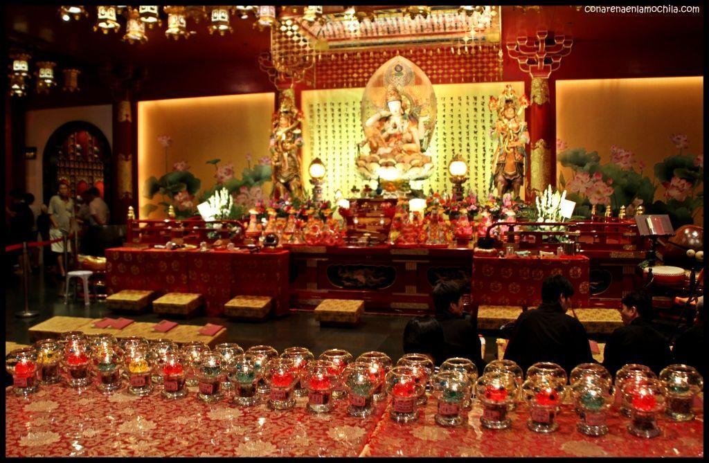 Buddha Tooth Relic Temple Chinatown - SIngapur