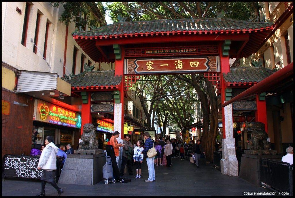 Chinatown Sídney Australia