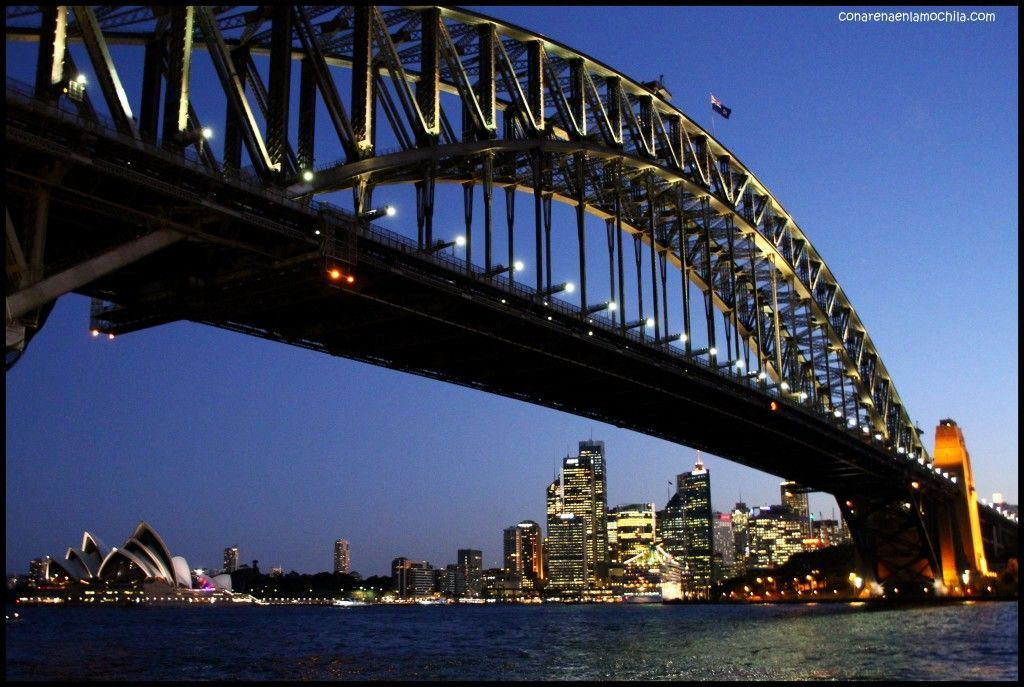 Milsons Point Harbour Bridge Australia