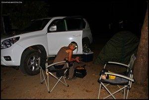 Cape Tribulation camping Daintree Australia