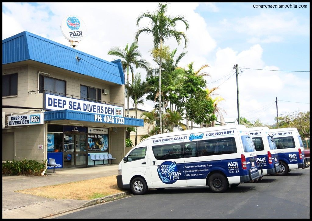 Deep Sea Divers Den Cairns Australia