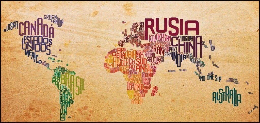 Mapa países visitados