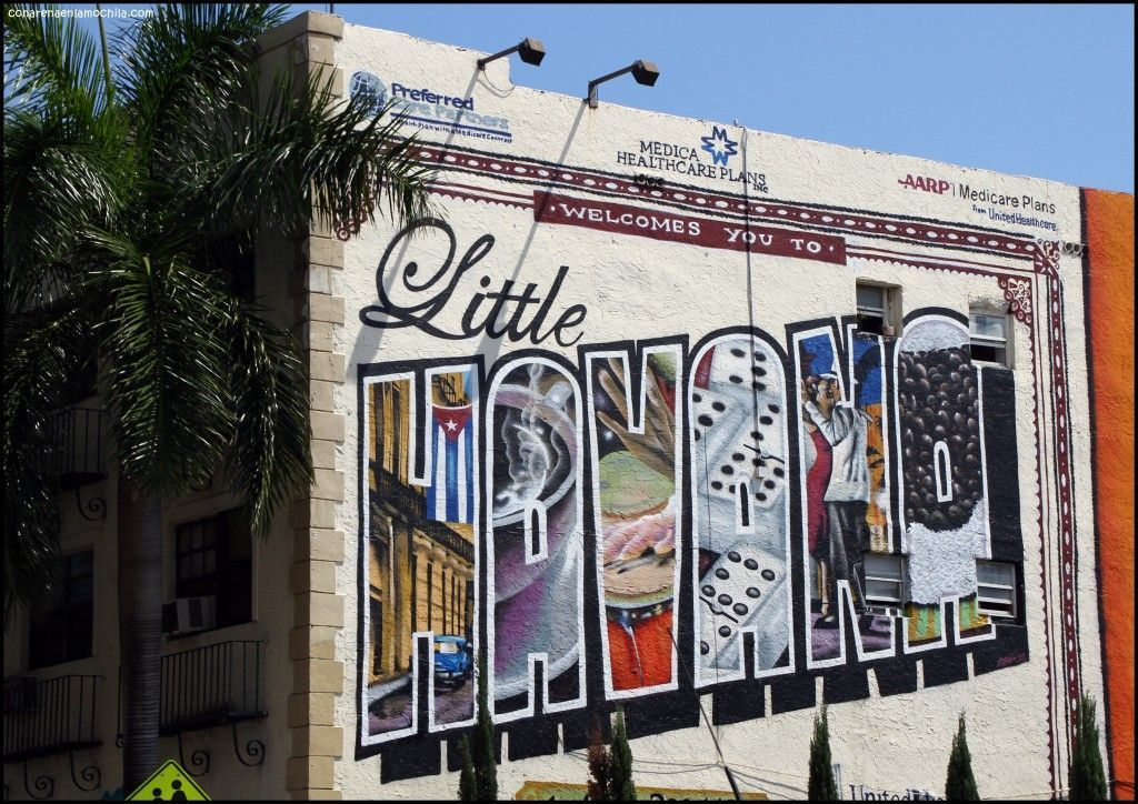 Little Havana Miami Florida Estados Unidos