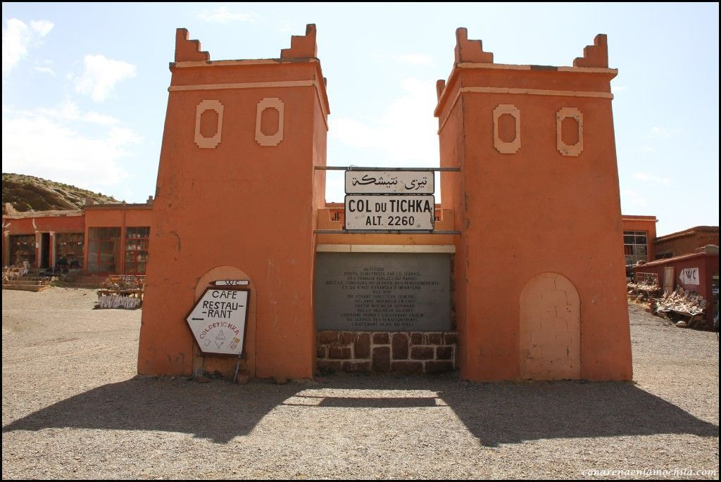 Col du Tichka Atlas Marruecos