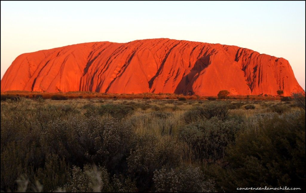 Ayers Rock Red Centre Australia