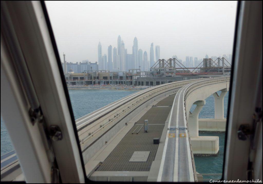 Palm Jumeirah Dubai Emiratos Árabes Unidos