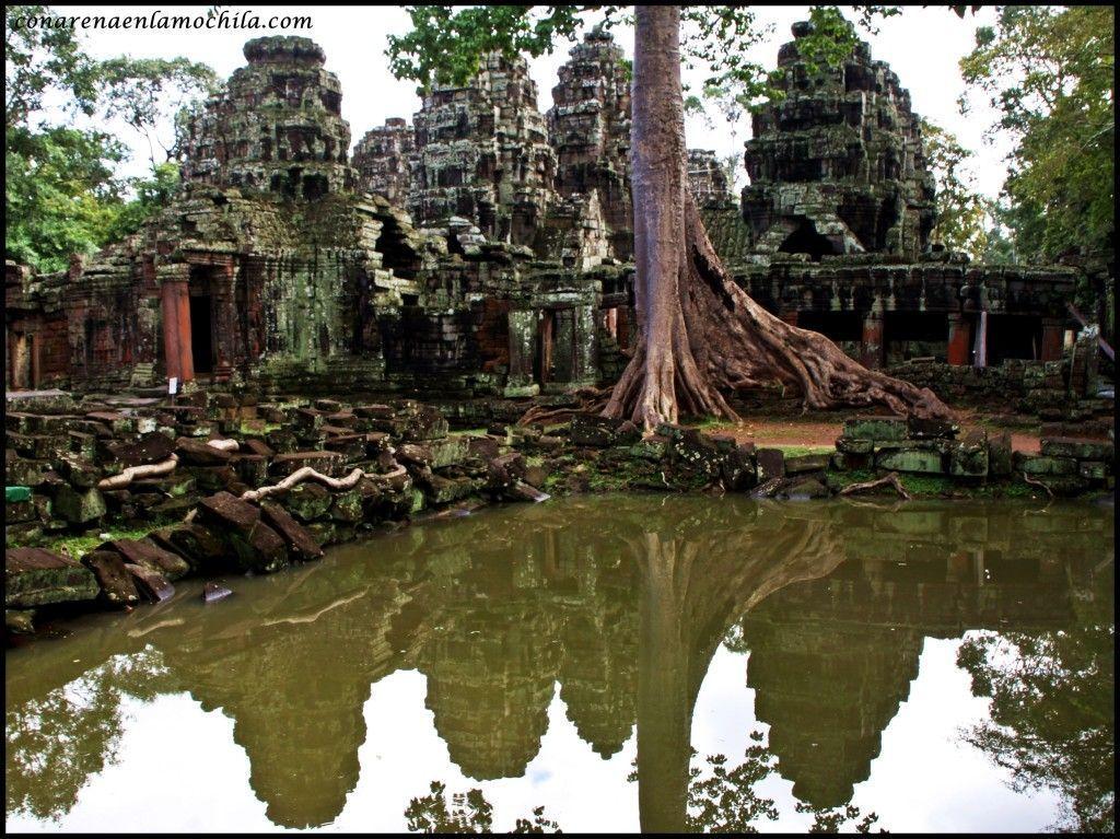 Banteay Kdei Angkor Siem Reap Camboya