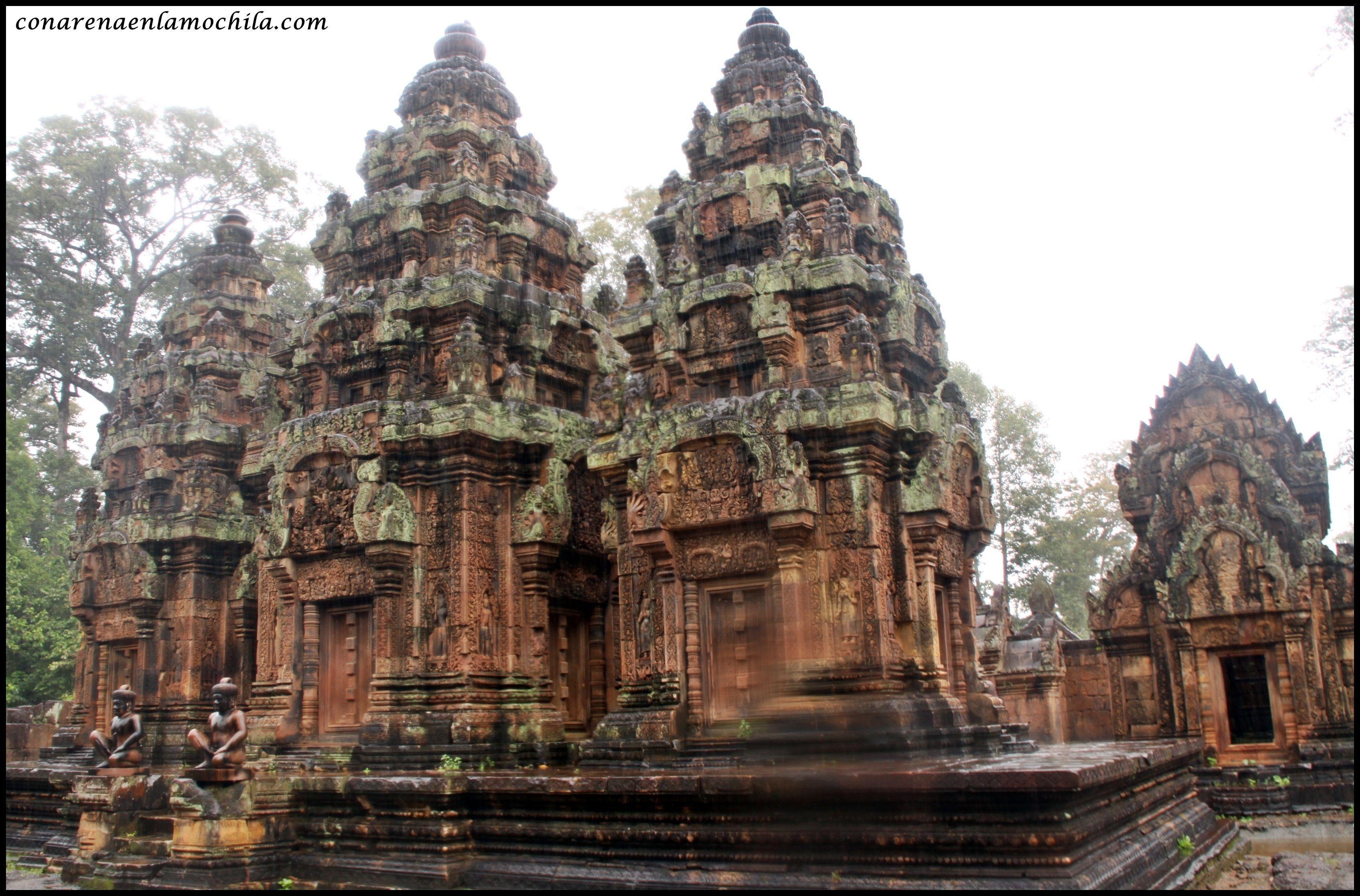 Banteay Srei Angkor Siem Reap Camboya