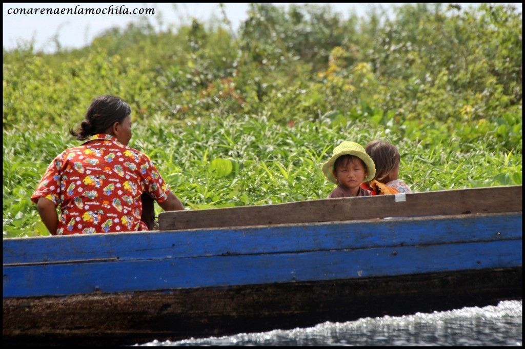 Tonle Sap Siem Reap Camboya