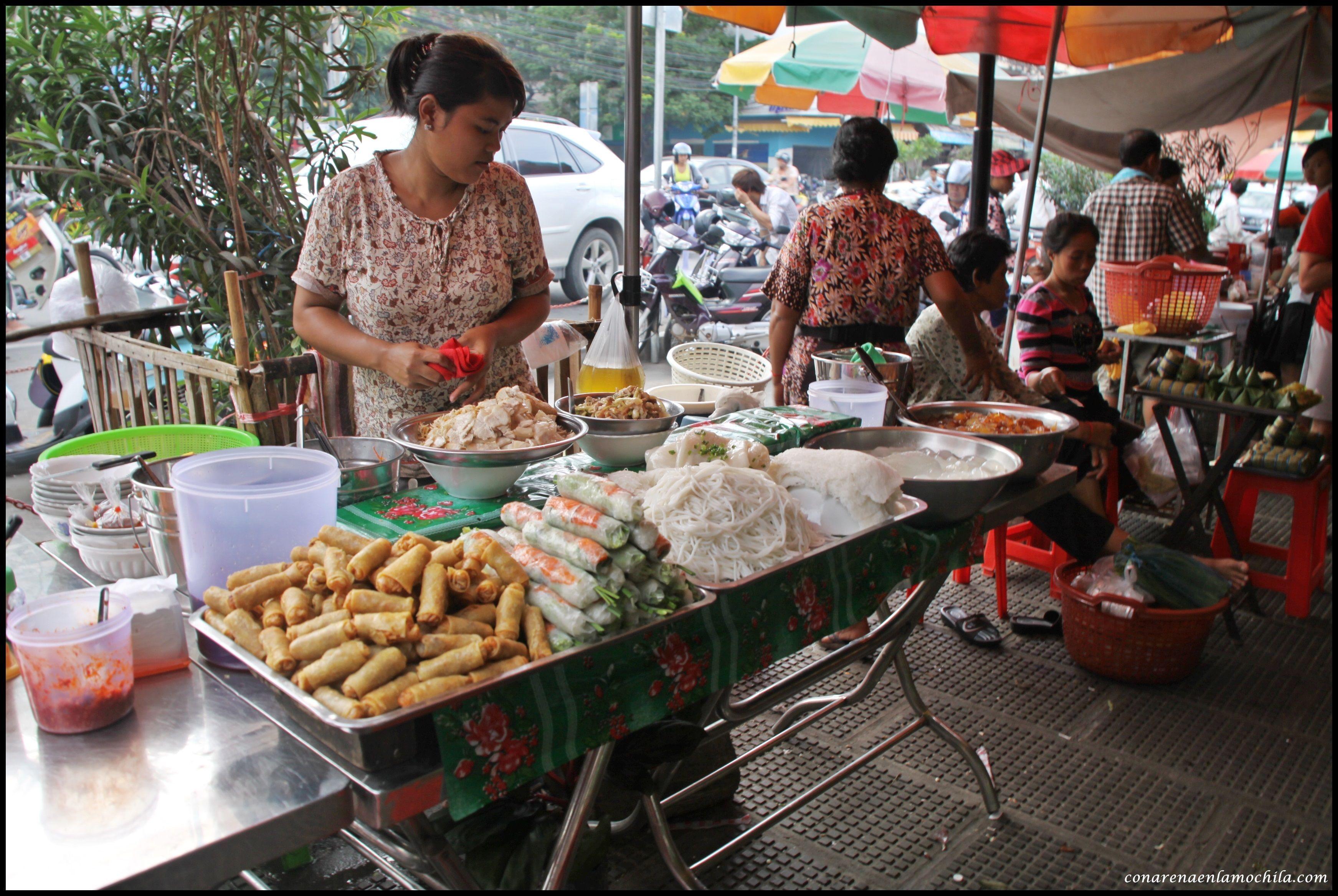 Psar Thmei Phnom Penh Camboya