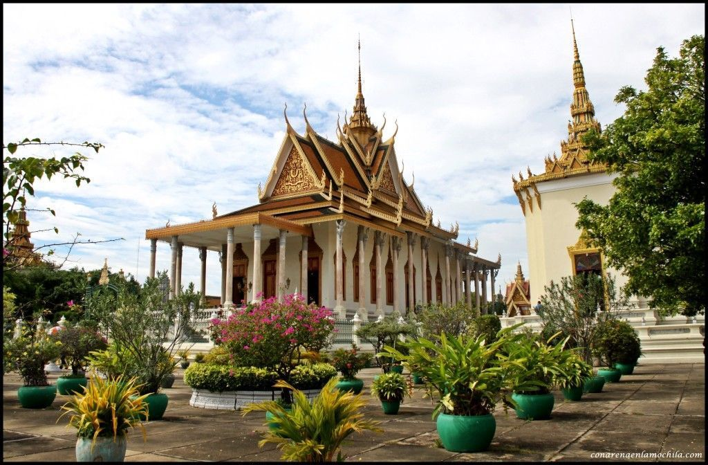 Palacio Real Phnom Penh Camboya