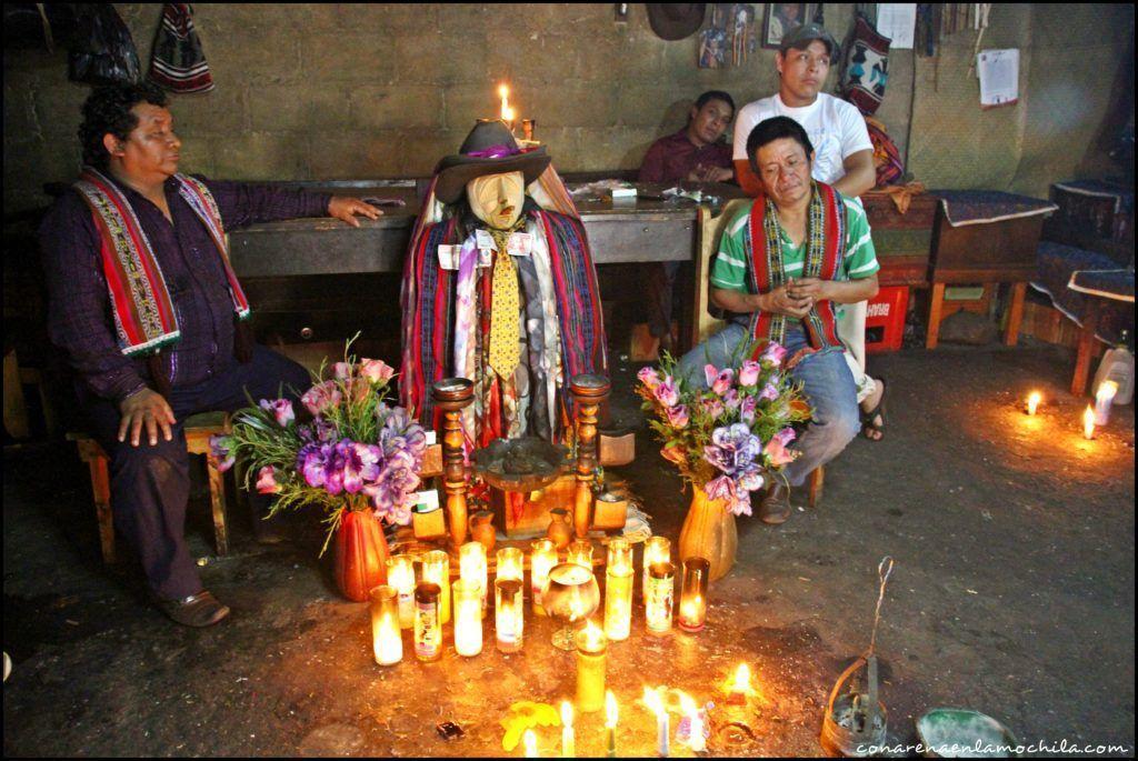 Santiago Atitlán Lago Atitlán Guatemala