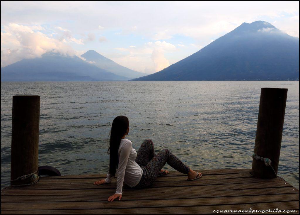 San Marcos la Laguna Lago Atitlán Guatemala