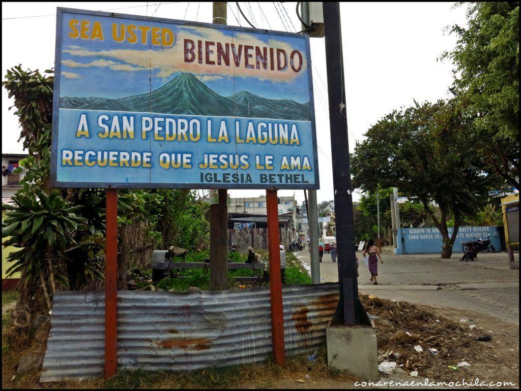 San Pedro la Laguna Lago Atitlán Guatemala