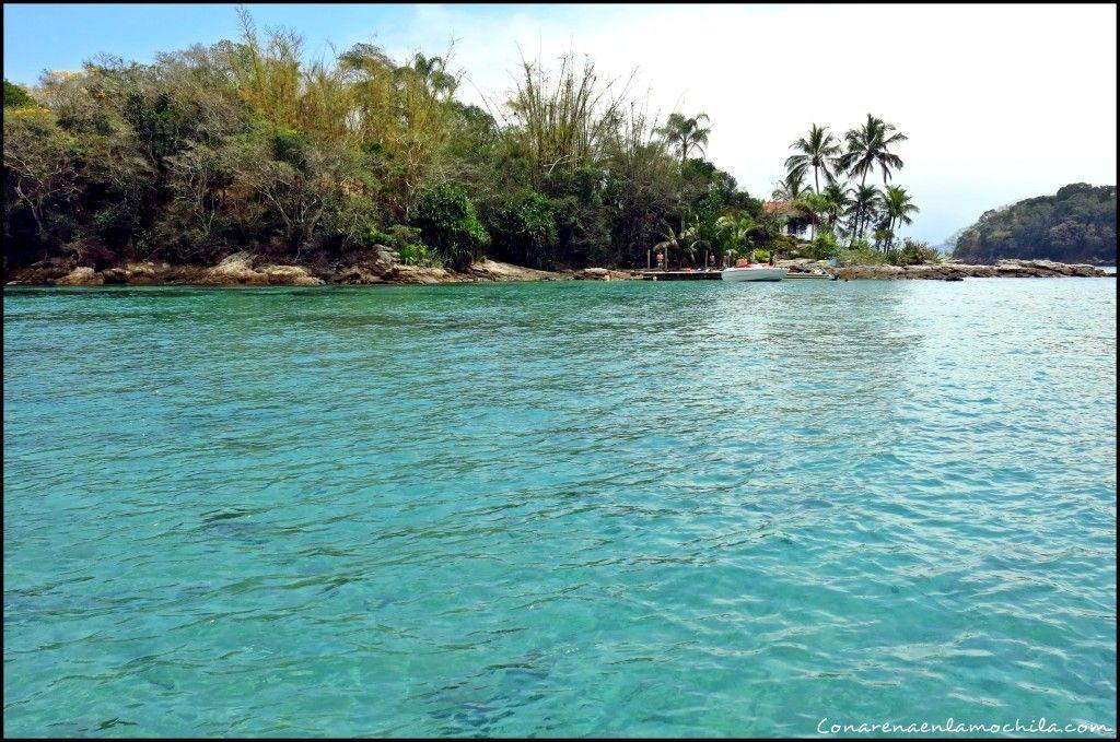 Lagoa Azul Ilha Grande Brasil