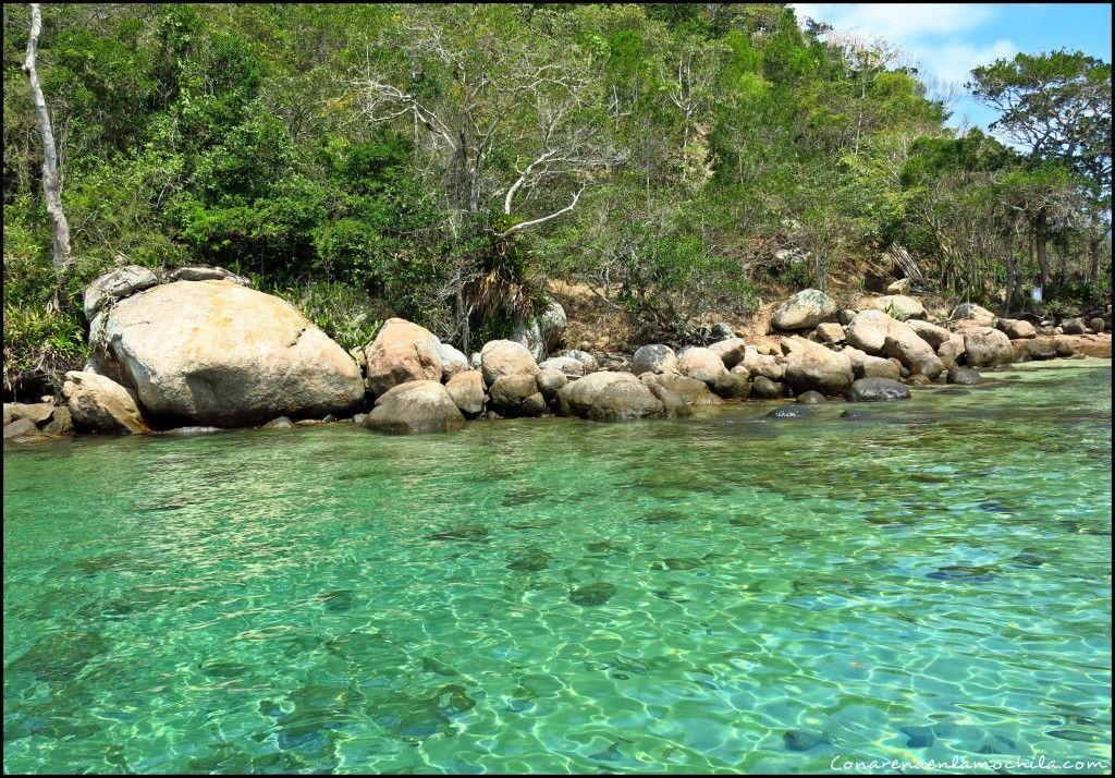 Lagoa Verde Ilha Grande Brasil
