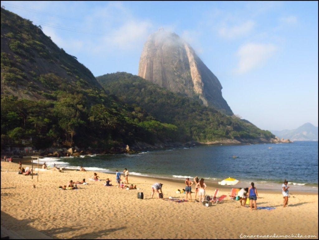 Praia Vermelha Rio de Janeiro Brasil
