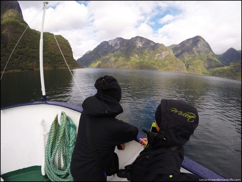 Aurlandsfjord Noruega