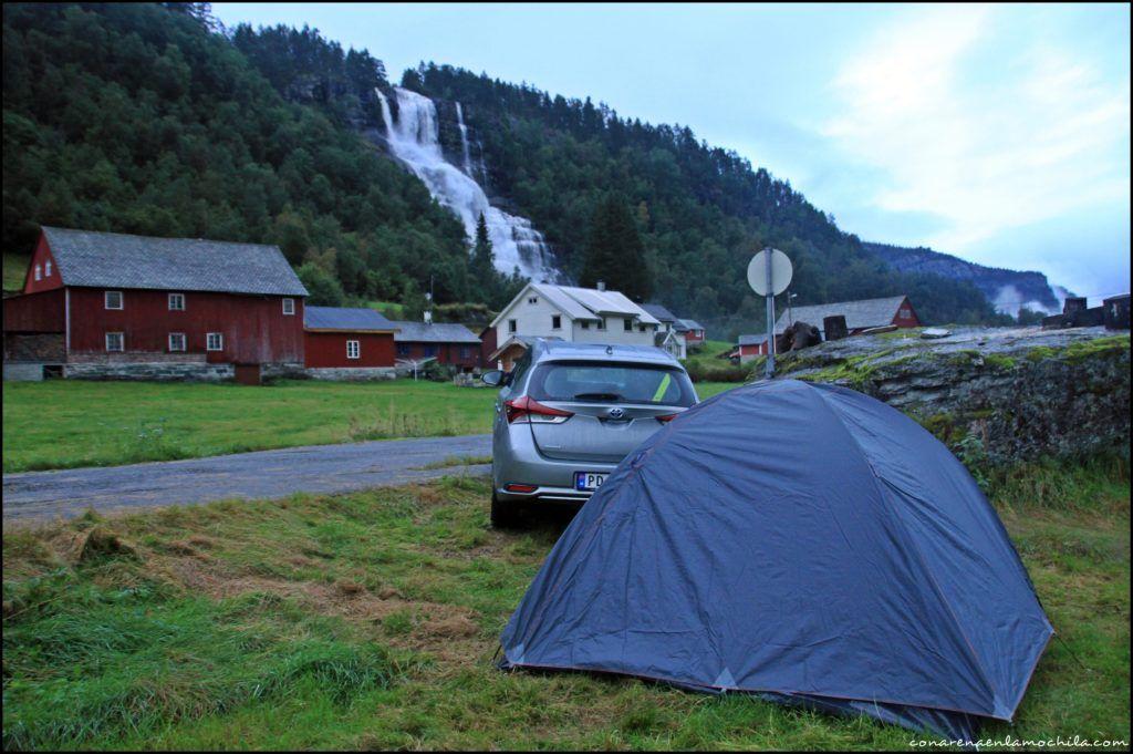 Tvindefossen Noruega