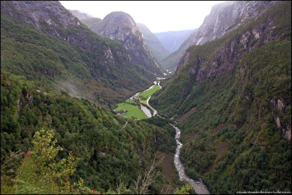 Naeroydalen Noruega