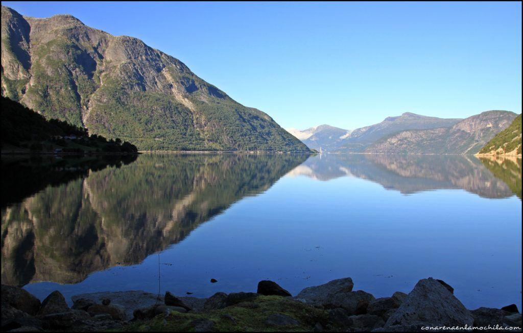 Eidfjord Noruega