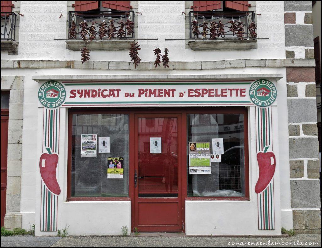Espelette País Vasco francés Francia