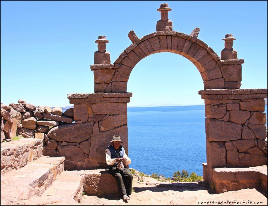 Taquile Lago Titicaca Perú