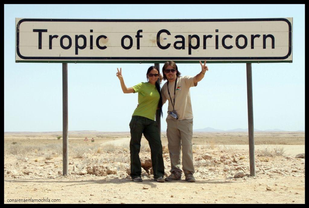 Trópico Capricornio