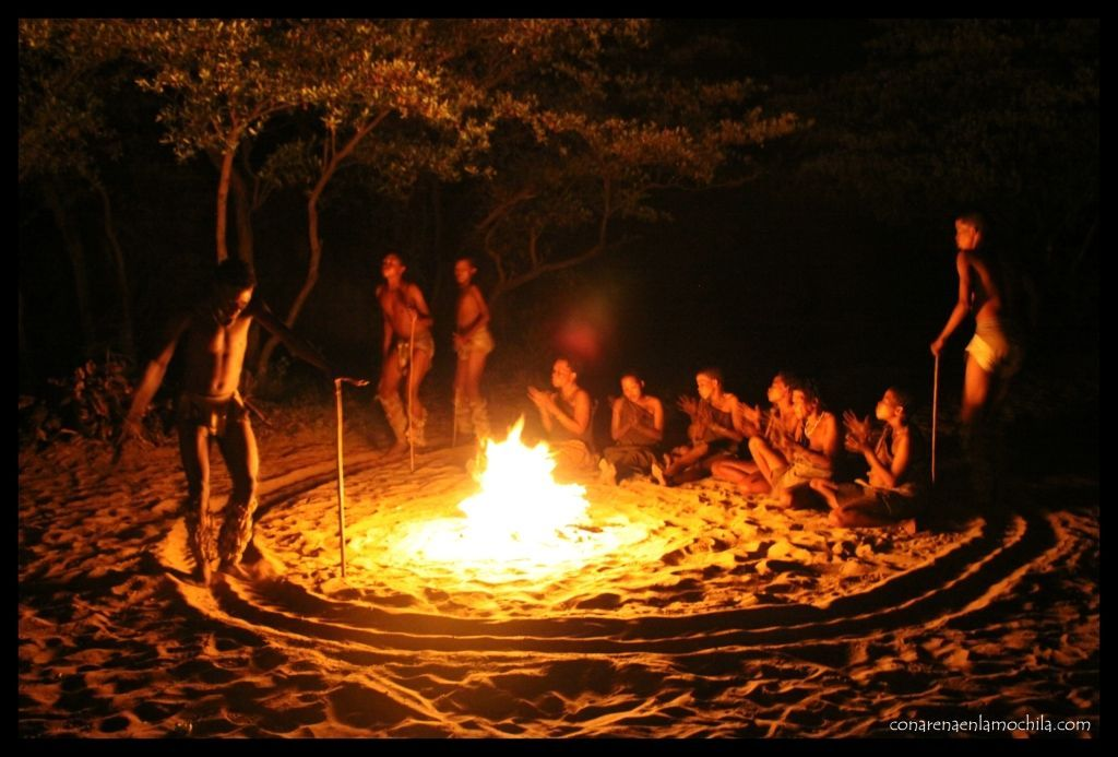Tribu San Botswana