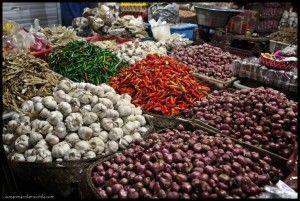 Mercado Ubud Bali Indonesia