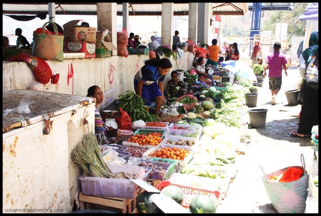 Mercado Labuan Bajo Flores