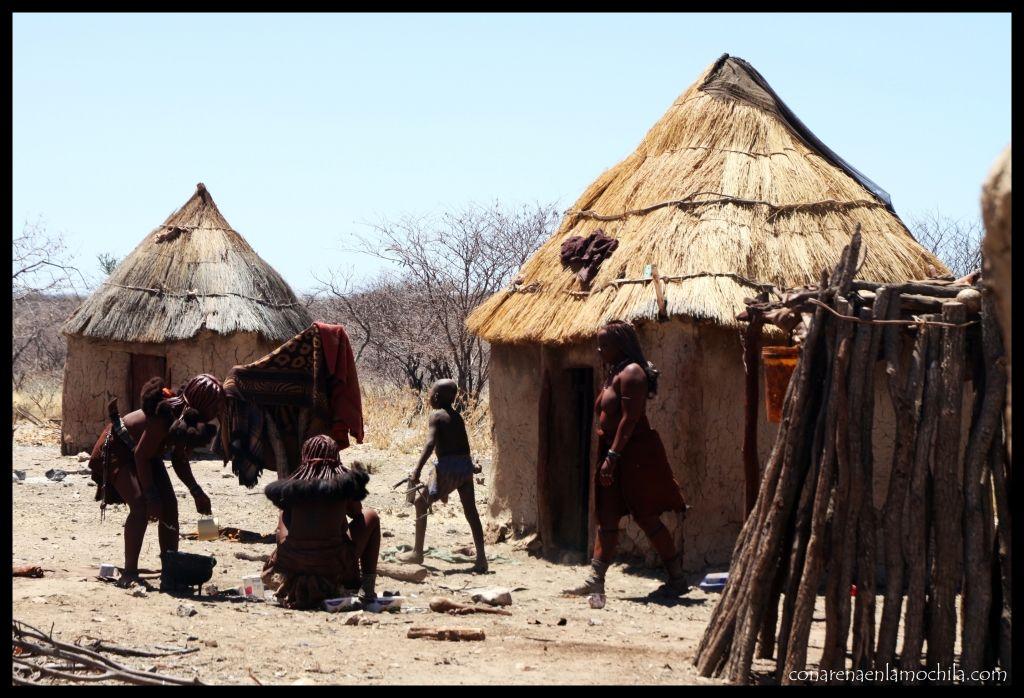 Poblado Himba Namibia