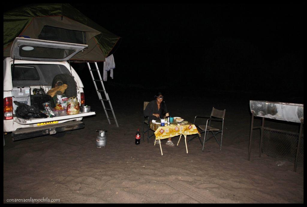 Camping Savuti