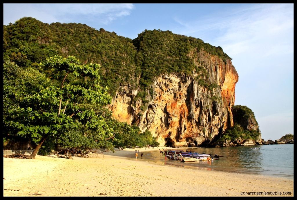 Railay Krabi Tailandia