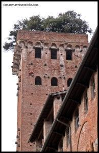 Torre Guinigi Lucca Italia