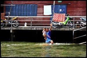 Klong Bangkok Tailandia