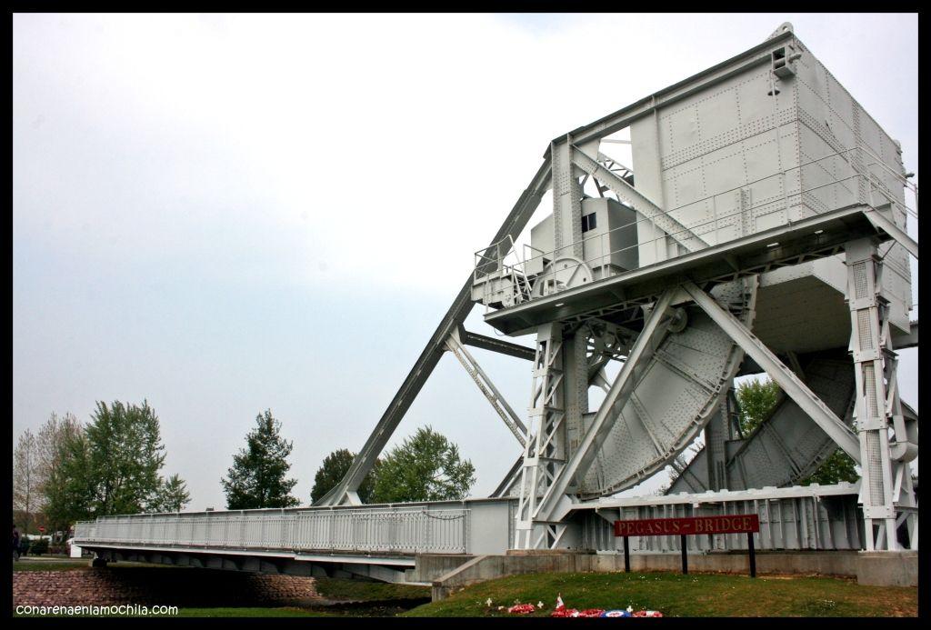 Pegasus Bridge Bénouville Normandía Francia