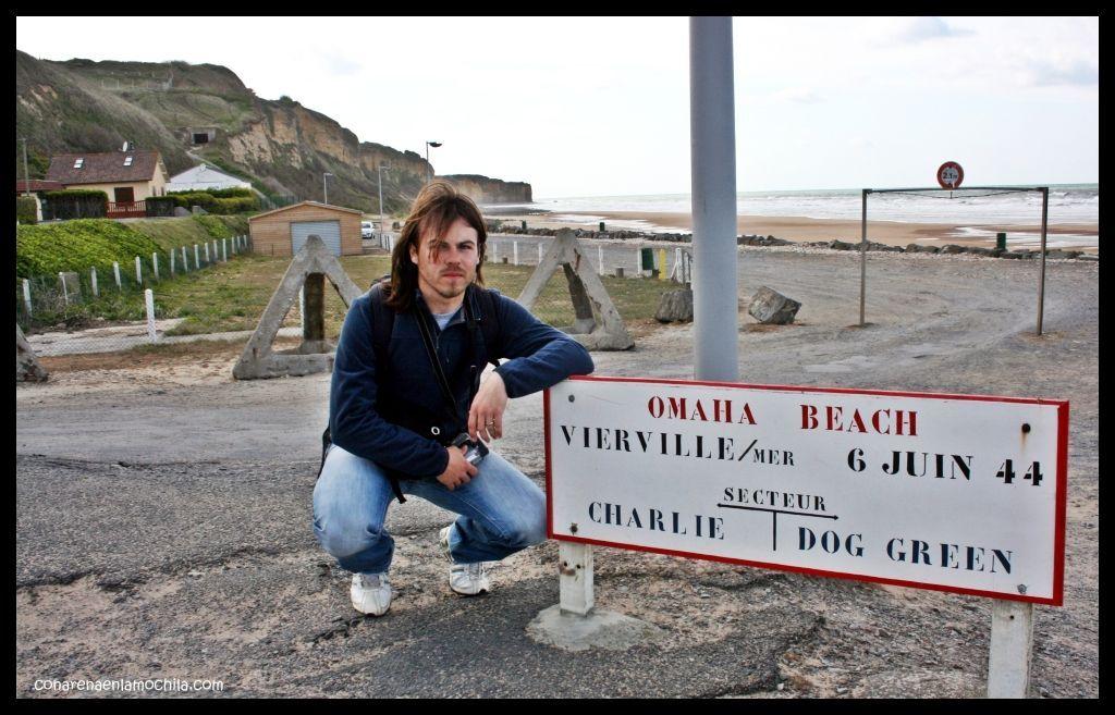 Omaha beach Normandía Francia